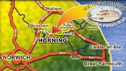 Southern Comfort River trips on the Norfolk Broads